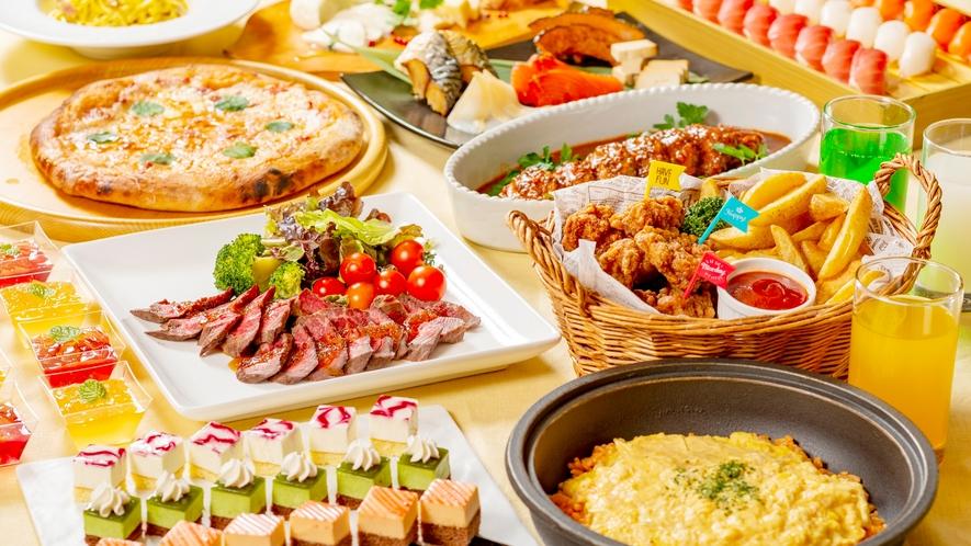 【夕食】和洋中ビュッフェ