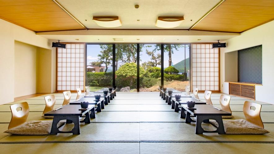 【宴会場】須磨 8~30名の食事に対応できる宴会場 ※椅子・テーブル形式のご相談も承ります