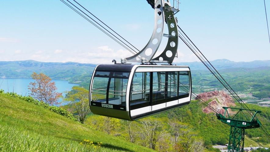 【有珠山ロープウェイ】スイス製の新型ゴンドラから洞爺の景色を一望☆