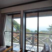 客室からの風景(秋)