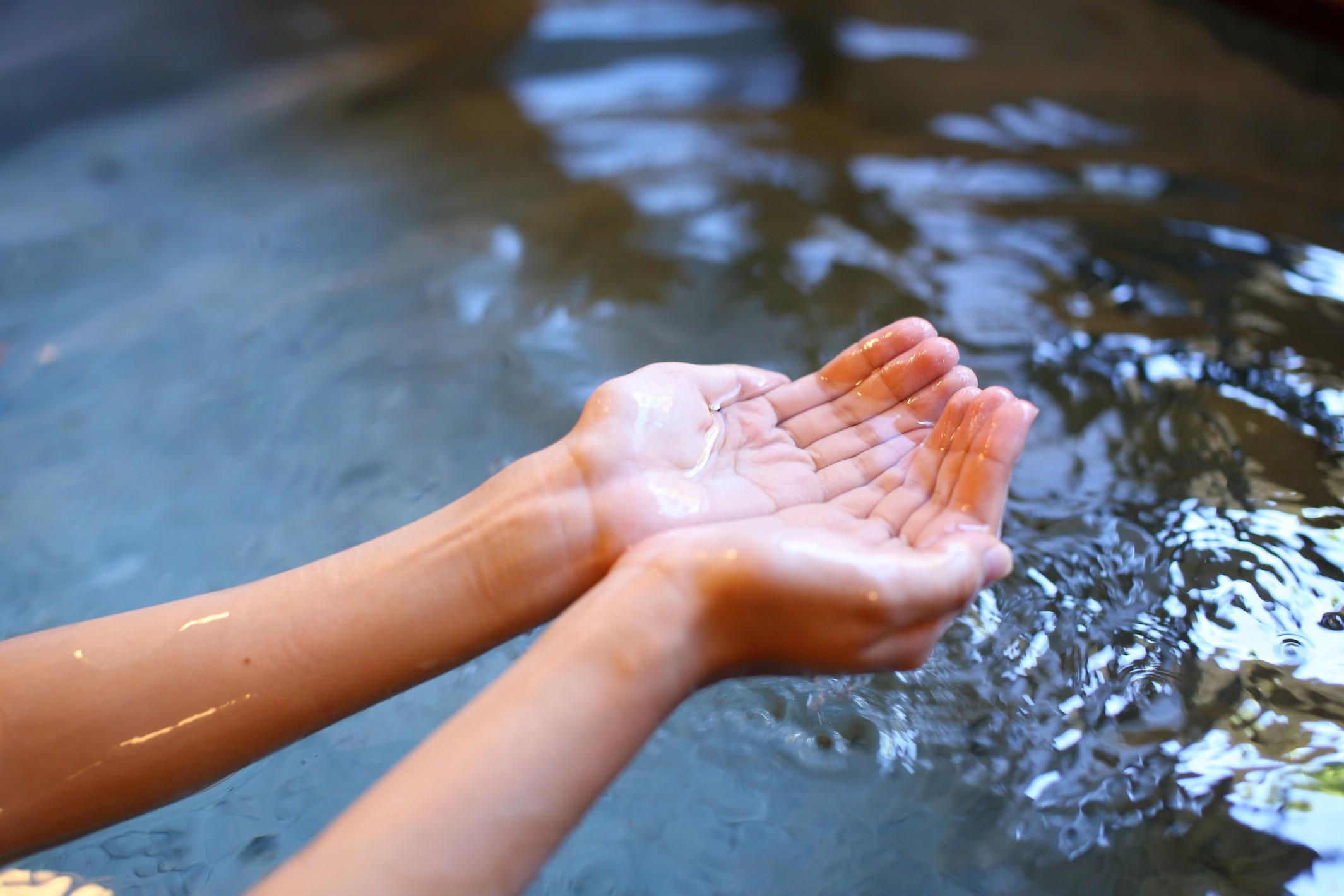お風呂お湯(イメージ)