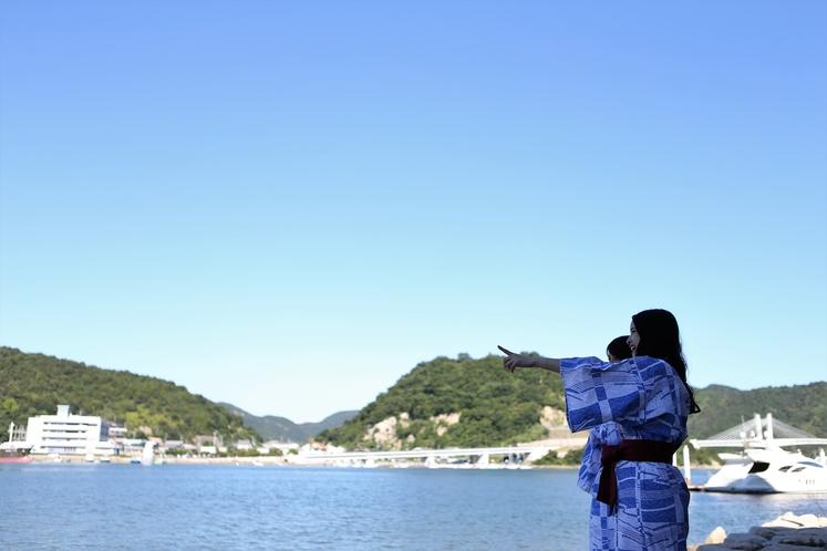 日生港を望む(シーン)