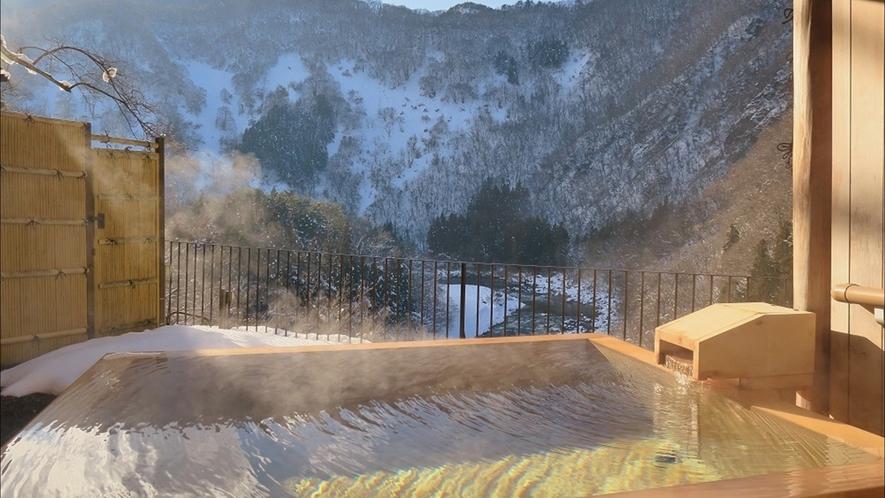 冬~露天風呂付客室(和室) からの景観