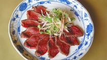 【別注料理】牛肉のたたき 1650円(税込み) ※事前予約(1週間前)