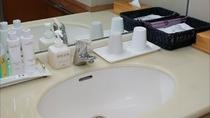 【渓谷側】 川音 和室12畳の洗面