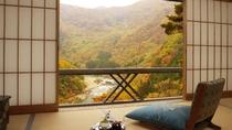 【渓谷側】青芭蕉・お部屋からの景観
