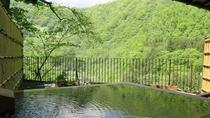 春夏~露天風呂付客室(和室)からの景観