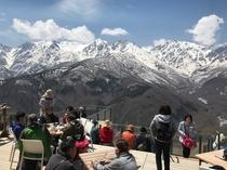 岩岳山頂展望テラス