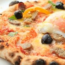ピッツエリア アレグロ ディナープラン「ピザ」の一例