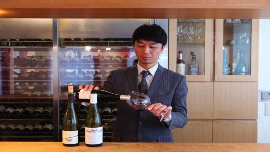 館内併設のワインバー「Ninoe(ニノエ)」