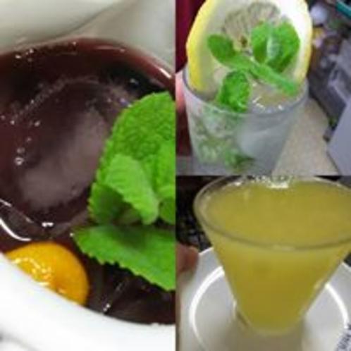 サングリアにモヒート、生搾りジュース