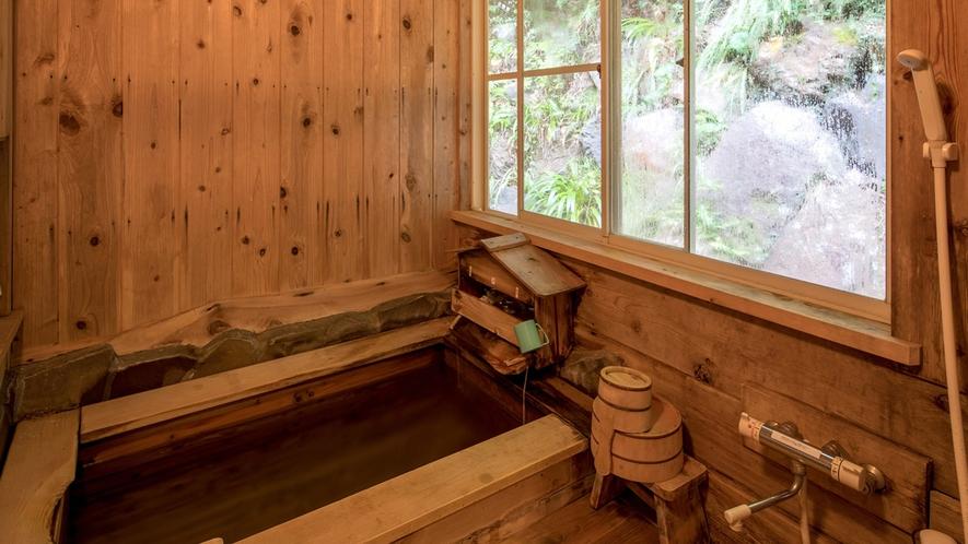・リニュアルした檜風呂