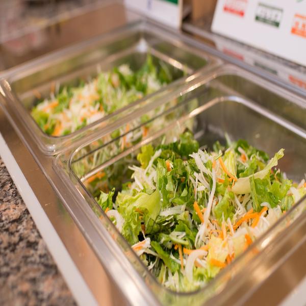 安心・安全の有機JAS認定の野菜サラダです♪
