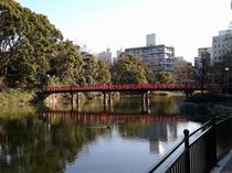 【天王寺公園】 都会の中で緑を感じられる場所。(当ホテルから徒歩2分~5分)