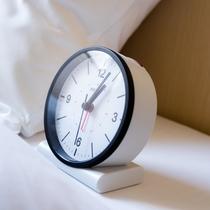 モーニングコール代わりに使って朝寝坊の心配なし!