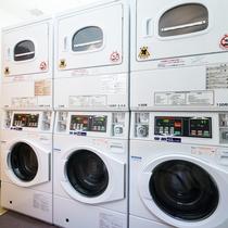 【コインランドリー】洗剤無料設置だから長期の宿泊でも安心♪