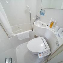 お部屋の水道水は全て健康イオン水です♪