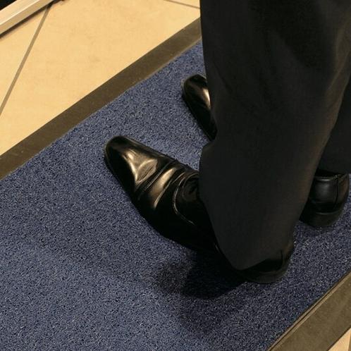 靴底の消毒