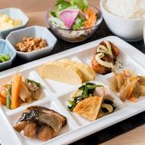無料健康朝食(イメージ)