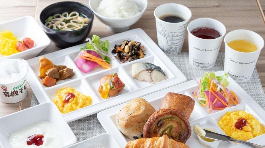 朝食盛り付けイメージ③