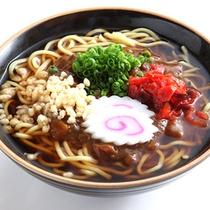 *【カレー旨麺】独特の旨味が食欲をそそります!