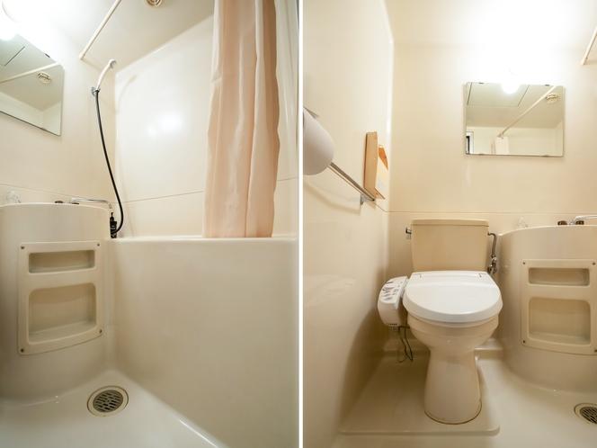 和室三人部屋 バス・トイレ