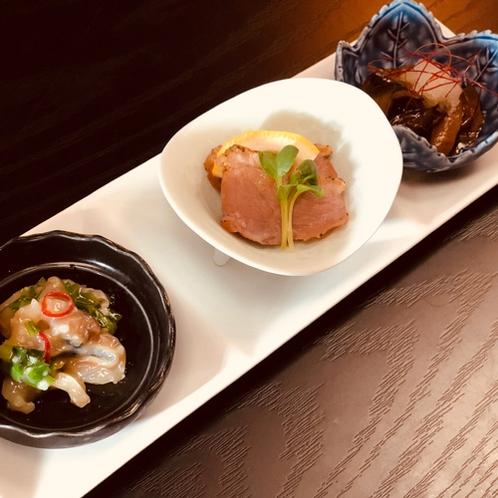 *【贅沢和食コース一例】料理長が真心込めてご用意する6品おまかせコース