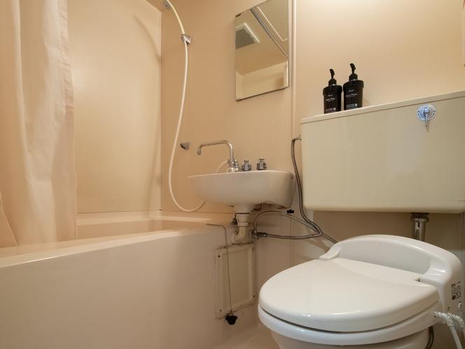和室二人部屋 バス・トイレ