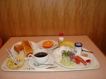 朝食メニュー洋定食