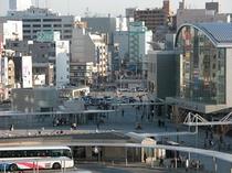 高松駅前写真