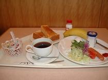 朝食付プランの朝食