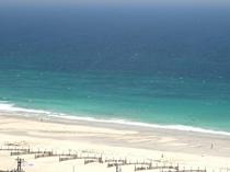 コバルトブルーの海、白浜