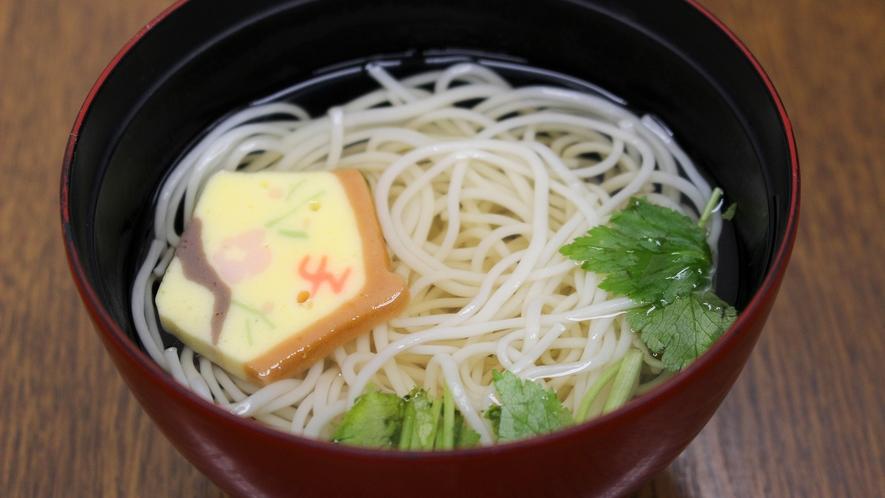 *【夕食一例】にゅうめん