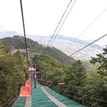 *【周辺】津乃峰神社に行くまでのロープウェイ