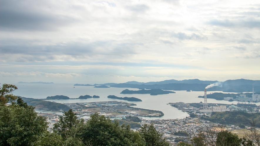 *【周辺】津乃峰神社スカイラインからの景色