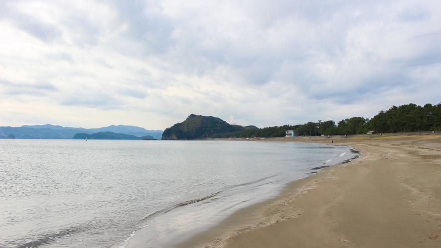 *【周辺】北の脇海水浴場(車で10分)