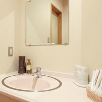 *【客室一例】和室12畳の洗面台