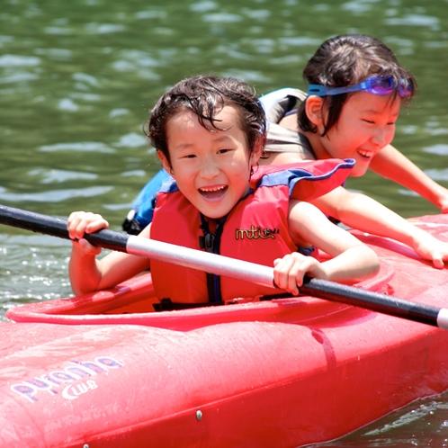 【カヌー】1人乗りなら小学3年生からがオススメ