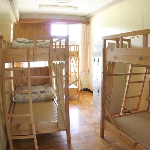 【教室】お休みは2段ベッドになります