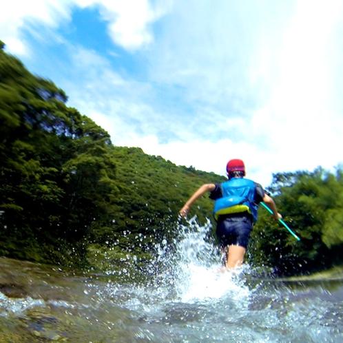 【川遊び】自然と一体になって楽しめます