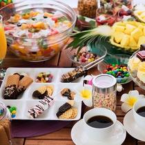 ■GW・夏限定 和洋サマービュッフェ デザート各種