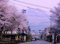 五岳ホテルすぐそば、カラコロ通りの町並み。