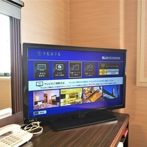客室設備 VOD700タイトル視聴無料