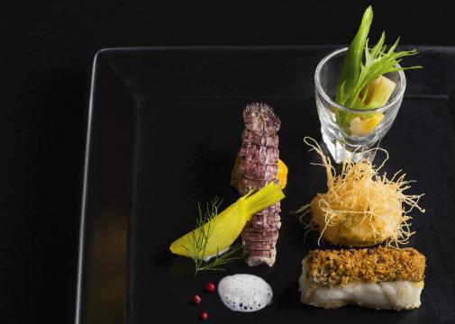 創作フレンチフルコース(魚料理)