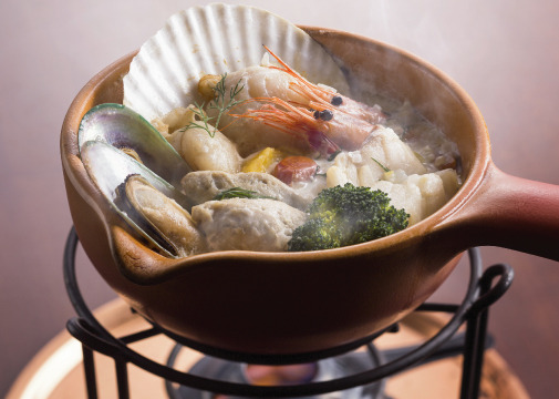 洋風鍋『コトリアードディナー』
