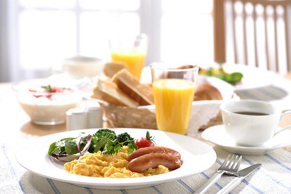 朝食写真1