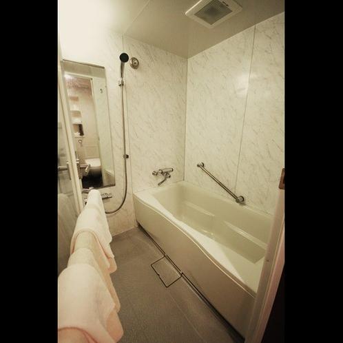 独立した浴室