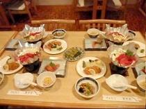 夕食の一例 w02