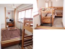 居間3畳と二段ベット(二台)w