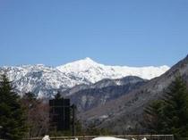 笠が岳 2897m(平湯撮影)